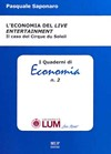 L'ECONOMIA DEL LIVE ENTERTAINMENT